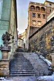 通过布拉格 免版税图库摄影