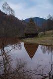 通过开采残余浇灌湖污染, Geamana 图库摄影