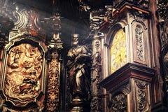 通过时间的时钟梦想寿命 库存图片