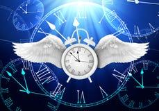 通过概念的时间 库存例证