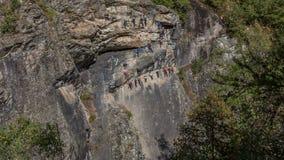 通过Feratta,法国阿尔卑斯 库存照片
