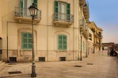 通过Venezia 驳船 普利亚或普利亚 意大利 库存照片