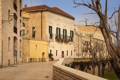 通过Venezia 驳船 普利亚或普利亚 意大利 免版税图库摄影