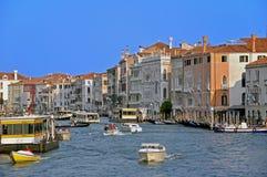 通道全部威尼斯 免版税图库摄影