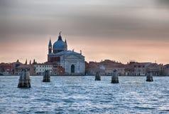 通道威尼斯 库存照片