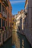通道小的威尼斯 库存图片