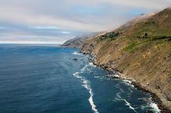通配加利福尼亚的海岸线 库存照片