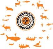 通配动物狩猎的人员 免版税图库摄影