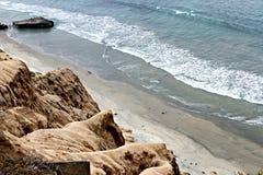 通配的海滩 图库摄影