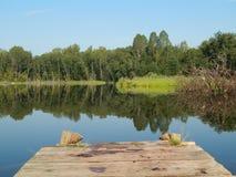 通配的湖 免版税库存图片