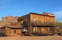 通配西部的城镇 免版税库存图片