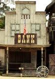 通配西部的银行 免版税库存图片