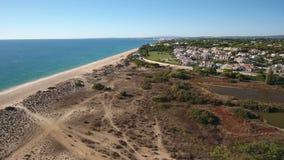 通风 一条寄生虫的录影射击在海滩Vale de Lobo,阿尔加威的 影视素材