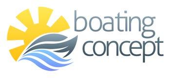 速度小船或游艇设计 库存图片