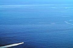 速度小船 免版税库存照片
