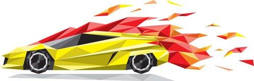 速度汽车 图库摄影