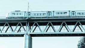 速度火车 图库摄影
