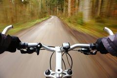 速度自行车 库存图片