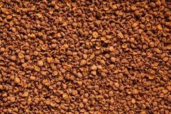 速溶咖啡粉末 免版税库存照片