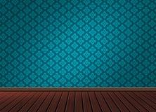 仿造与木地板的背景纹理在葡萄酒样式 库存照片