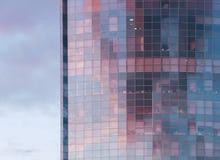 建造办公室的玻璃 免版税图库摄影