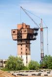 建造场所和轻拍 免版税图库摄影