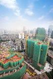 建造场所在城市 免版税图库摄影