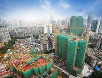 建造场所在城市 库存图片