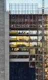 建造场所大厦 免版税图库摄影