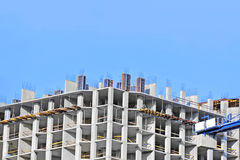 建造场所工作 免版税库存照片