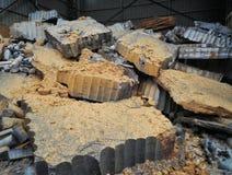 建造场所石头 库存照片