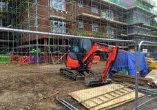 建造场所英国 库存照片