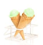 造币厂的冰淇凌 免版税库存照片