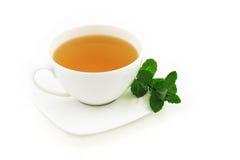 造币厂的茶 免版税库存图片