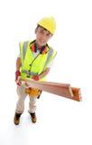 建造者或木匠 库存图片