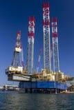 造船厂在克罗地亚-抽油装置 免版税图库摄影