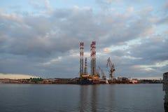 造船厂在克罗地亚 免版税库存照片