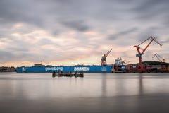 造船厂在哥特人 库存图片