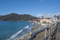 造船厂或造船厂 免版税库存照片
