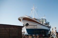 造船厂 免版税库存照片