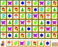 逻辑与迷宫的难题比赛孩子和成人的 画尊敬规律性的一条闭合的线 库存图片