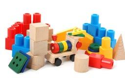 逻辑玩具 免版税库存图片