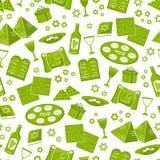 逾越节模式 免版税库存图片