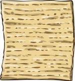 逾越节的Matzah未发酵的面包 库存例证