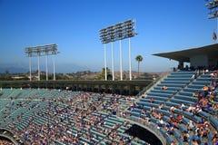 道奇体育场甲板-洛杉矶道奇 图库摄影