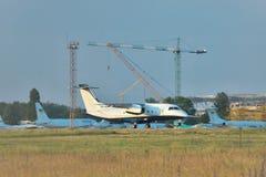 道尼尔328地方喷气机 免版税图库摄影
