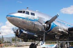 道格拉斯芬兰的前国营航空公司DC-3,芬兰航空公司 免版税库存照片