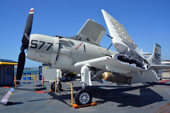 道格拉斯A-1 Skyraider 图库摄影