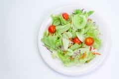 1道蔬菜沙拉 图库摄影