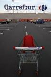 道路交叉点购物车徽标购物超级市场 库存照片
